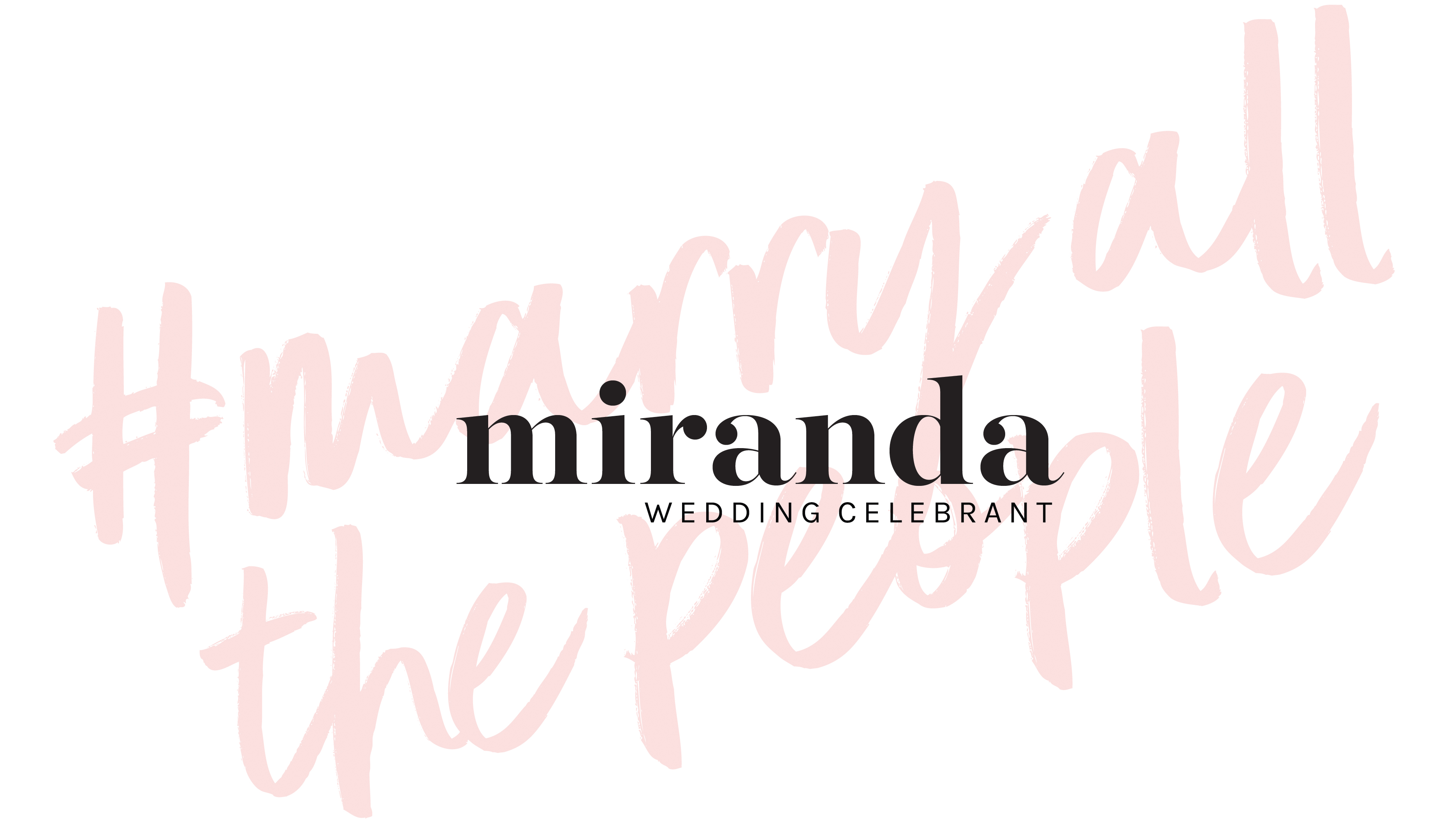 MIRANDA - WEDDING CELEBRANT